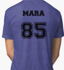 Mara Varsity Tri-blend T-Shirt