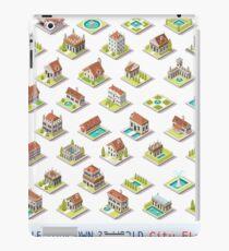 Game-Set-03-Building-Isometric iPad Case/Skin