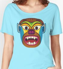 Devil ethnic mask Women's Relaxed Fit T-Shirt