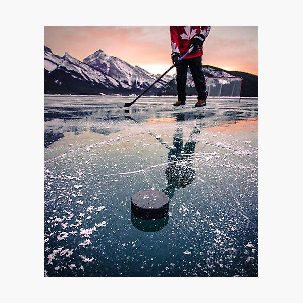 Canadian Winter Sunrise Photographic Print