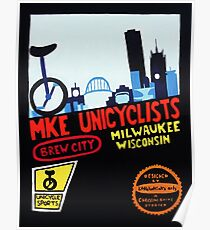 MKE Unicyclists Poster