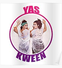 BROAD CITY YAS KWEEN Poster