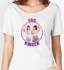 BROAD CITY YAS KWEEN Women's Relaxed Fit T-Shirt