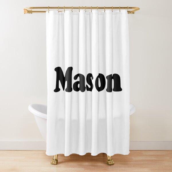 Mason Shower Curtains Redbubble