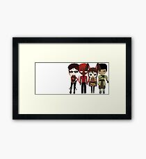 Team CFVY Framed Print