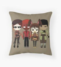 Team CFVY Throw Pillow