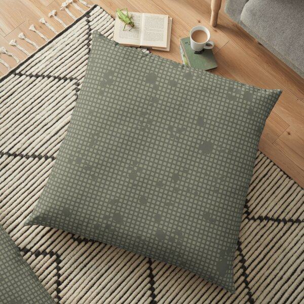 Desert Night Camo Floor Pillow