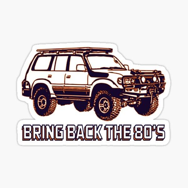 Toyota Land Cruiser | Ramenez les années 80 Sticker