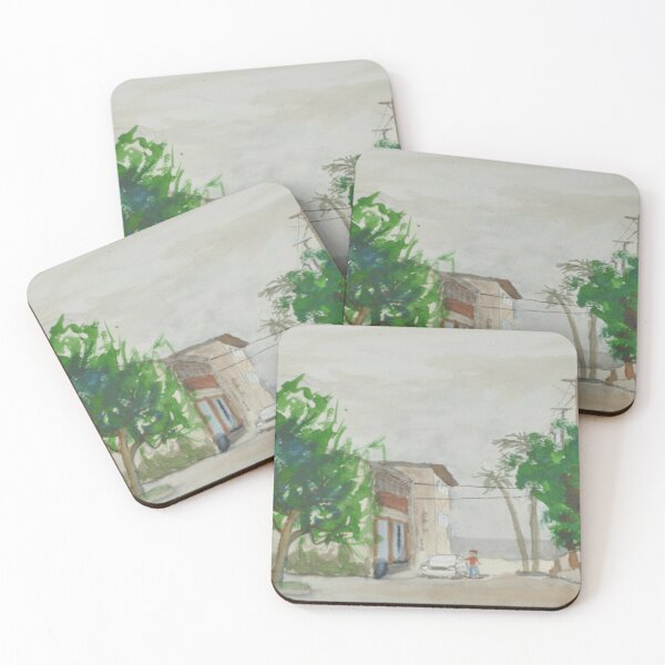 Seal Beach, California Coasters (Set of 4)