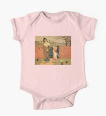Kate Greenaway Mother and child Victorian illustration Kids Clothes