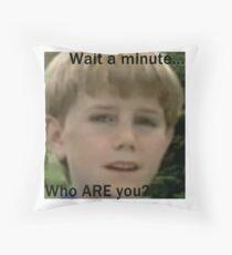 Kazoo Kid Throw Pillow