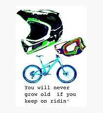 Mountain Bike Photographic Print