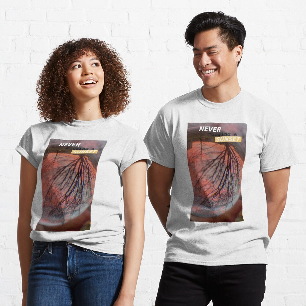 Sunset Lover  by Yannis Lobaina Classic T-Shirt