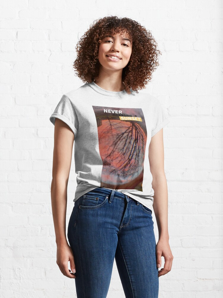 Alternate view of Sunset Lover  by Yannis Lobaina Classic T-Shirt
