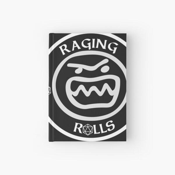 Raging Rolls inverted Logo Hardcover Journal