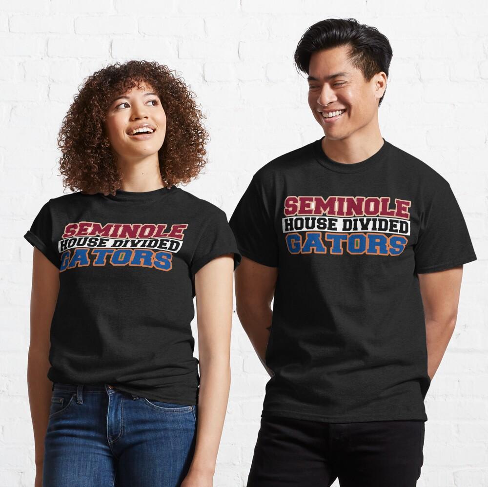 Seminole House Divided Gators Classic T-Shirt