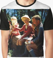 1960's German Family Fun Graphic T-Shirt