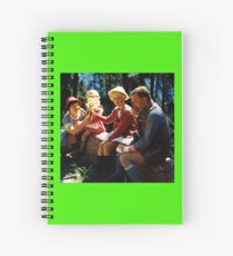 1960's German Family Fun Spiral Notebook
