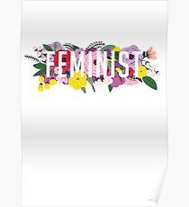 Fem Flowers  Poster
