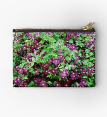 Clematis in Bloom Studio Pouch