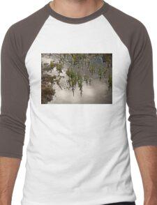 Samphire at Salthouse, Norfolk. Men's Baseball ¾ T-Shirt