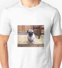 Pug Puppy Colour Decking T-Shirt