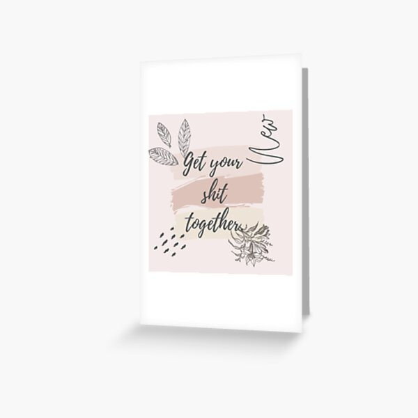 Here Cum the Brides Lesbian Bachelorette Card