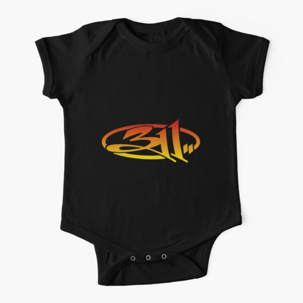 311 Band Short Sleeve Baby One-Piece