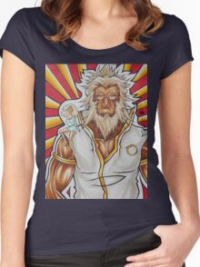 Demon Slayer and The Personification of Perception, watching you    Women's Fitted Scoop T-Shirt