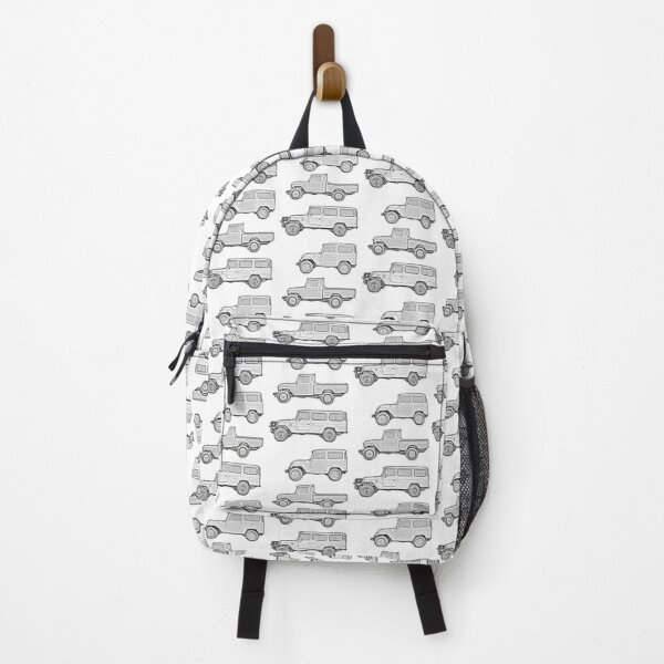40 Series B&W Collage Backpack