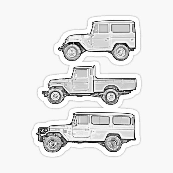 40 Series B&W Collage Sticker