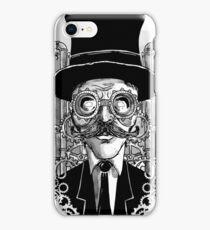 Steampunk Man iPhone Case/Skin
