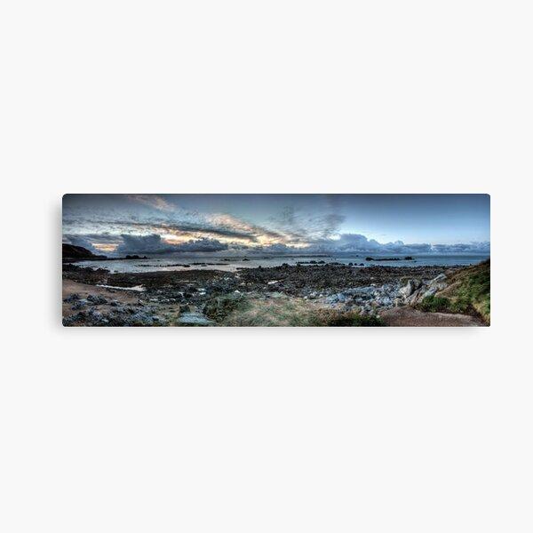 Clonque Bay, Alderney Canvas Print