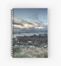Clonque Bay, Alderney Spiral Notebook