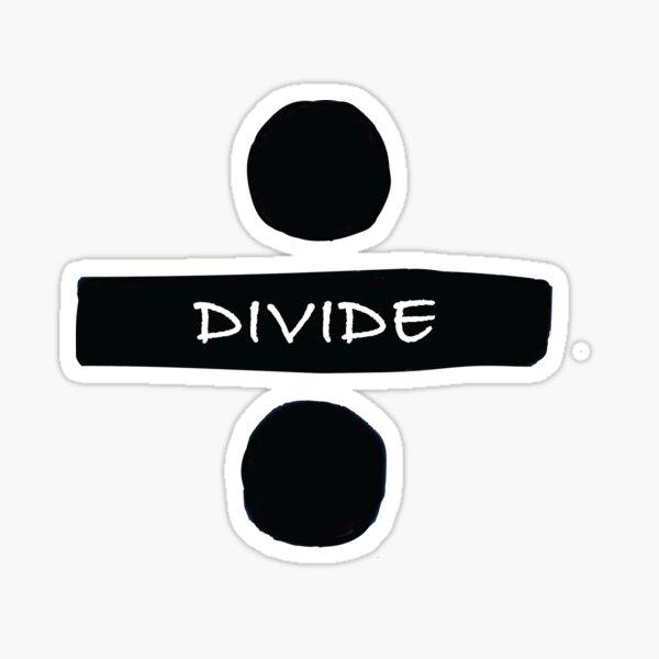 Divide Sticker