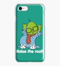 Muppet Babies - Bunsen - Raise The Roof - White Font iPhone Case/Skin