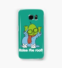 Muppet Babies - Bunsen - Raise The Roof - White Font Samsung Galaxy Case/Skin
