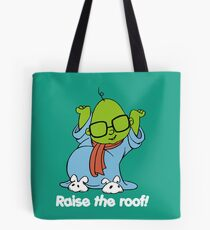 Muppet Babies - Bunsen - Raise The Roof - White Font Tote Bag