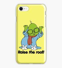Muppet Babies - Bunsen - Raise The Roof - Black Font iPhone Case/Skin