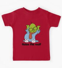Muppet Babies - Bunsen - Raise The Roof - Black Font Kids Tee