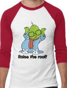 Muppet Babies - Bunsen - Raise The Roof - Black Font Men's Baseball ¾ T-Shirt