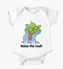 Muppet Babies - Bunsen - Raise The Roof - Black Font One Piece - Short Sleeve