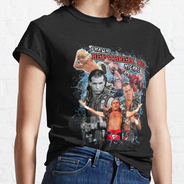 Vintage Inspired Shawn Heartbreak Kid Michaels Wwf Wrestling Classic T-Shirt