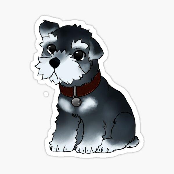 Miniature Schnauzer Paw Hoodie Hoody Funny Mini Dog Pup Pupper Puppy Doge Cute