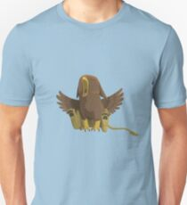 Yawning Baby Griffin Unisex T-Shirt