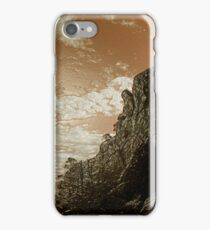 Brown Crag Landscape iPhone Case/Skin
