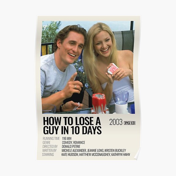 How to Lose a Guy in 10 Days (2003) movie poster Poster