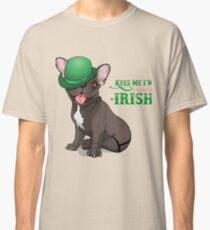 Kiss me I'm French-Irish  Classic T-Shirt