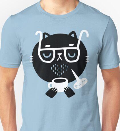 Cat Loves Coffee T-Shirt