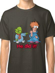 Muppet Babies - Bunsen & Beeker - He Did It! Classic T-Shirt
